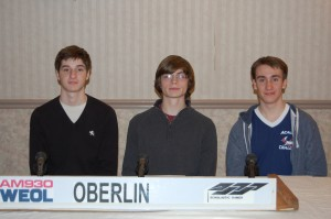 Oberlin team-SG 2016